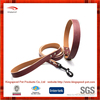 Simple color PU leather hot selling Dog Collar