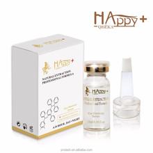 Private label manufacturers dark circle eye serum skin care/anti wrinkle eye blood serum