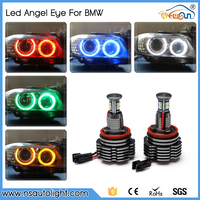 7000K white 1680lumen super bright led lights auto led marker angel eyes kits for BMW X5 X6 series E70 E92 E60 angel eyes