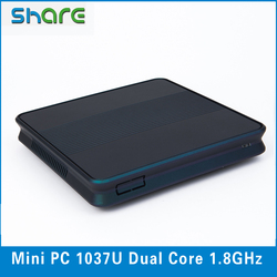 Small PC case 1037u desktop mini computer support Win OS and Linux OS