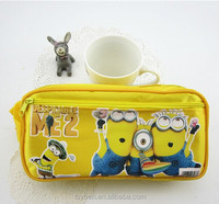 2015 Very Cute Yellow Minions Pencil Bag, Student Pencil Bag, Despicable Me Pencil Box Student School Pencil Case