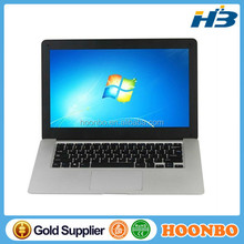cheap mini laptop 4G DDR3 500GB computer Win7 Intel Core I3 3227U Dual-core laptop Netbook