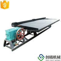 Small Gold Shaker Table, Alluvial Gold Mining Equipment