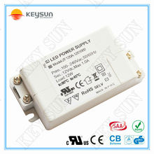 12V 1A led transformer with CE ROHS UL apprvoed