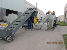 waste PP woven bags recycling machine