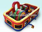 Criança playground inflável/criança playground