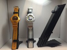 OEM order manufacture 3 tier professional acrylic watch display