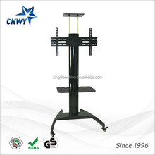China manufacture tv trolley stand luxury upright tv stand