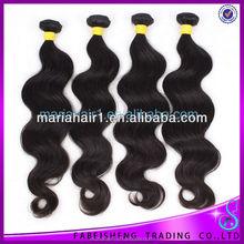 wholesale peruvian hair weaving natural color body wave 100% peruvian virgin hair