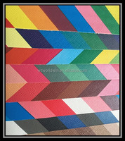 Hot new products for 2015 Embossed New design quality pvc rainbow leather for shoe making