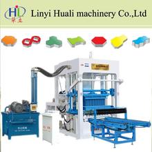 brick making machine for myanmar QT4-15 brick machine for myanmar
