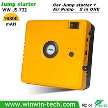 Built-in Compressor,car jump box