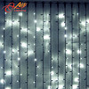 Light curtain for wedding fiber optic waterfall light curtain