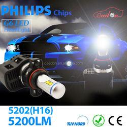Qeedon Hot Promotion high power quality car h4 led headlight bulbs lumens energy saving motorcycle