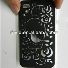 Bird Hollow Plastic hard phone Case Cover For Apple iPhone 4 4G 4S