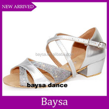Hot fashion new China girls latest new design with cheap price latin dance shoes BD047