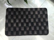 CENG CENG MAT , checkered pattern Floor mat rug with Rubber Back Non-Slip (Non-Skid) Door Mat Rug
