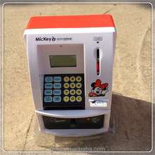 Mini Atm Bank Stealing Coins ATM Saving Money Box