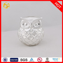 Fashion design white hanging murano glass owl best selling