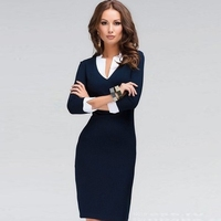 New design ladies office pencil sheath casual dress women dress women sexy dress