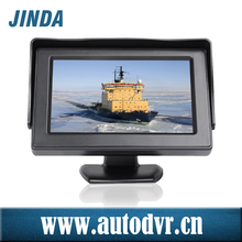 """New 3.5"""" inch high resolution Wide Screen stand alone car monitor, 2-way reversing automatically display AV input"""