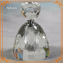 clear empty crystal bottle for essential oil,islamic oil bottle gifts