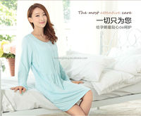 Guangdong soft material custom China Guangdong sexy long white satin nightgown