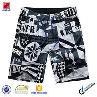black breathable camo shorts for men