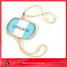 Professtional factory made metal seal tag for clothing