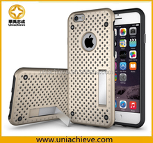For Apple iPhone 6 Cover Slim Case Protective Anti-scratch Mesh Flexible PC Anti-fingerprints Back Case for iPhone 6S