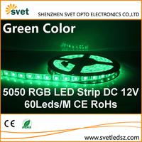 High Quality SMD 5050 60 Leds / M 300 Leds RGB Epistar Chip Led Strip Light 2 Years Warranty