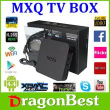 MXQ Android 4.2 dual core Smart TV Box XBMC fully loaded Jailbreak Mini PC