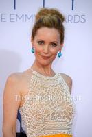 Celebrity Inspired Leslie Mann 2012 Emmy Awards Red Carpet Yellow Long Beaded Evening Dress