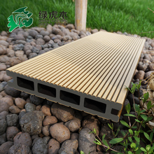 hollow WPC decking wood plastic composite deck board