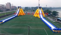 RL Inflatable slide type High quality PVC huge inflatable water slide for sale