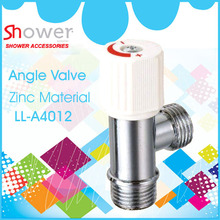 LL-A4012 toilet angle valve with crystal plastic knob