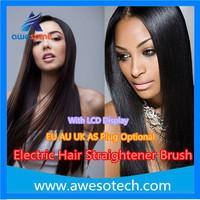 2015 hot sell new arrival LCD nova hair straightener wholesale