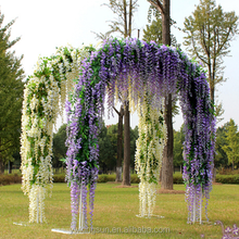 New Hot Sale 70cm Artificial Flower Wisteria Home Garden Hanging Flowers Vine Wedding Plant Decor Free Shipping