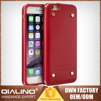 Best Sale Quality Guaranteed 100% Warranty Genuine Leather Bulk Case For Iphone 6