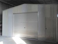 prefab storage garage shop shed/prefab steel shed