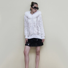 2015 Wholesale Price Winter OEM Service Real Fur Clothing
