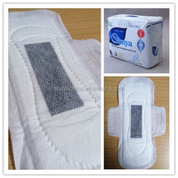 charcoal whisper sanitary napkin pads for female used