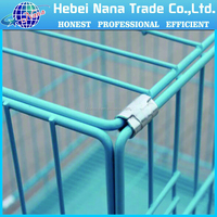 High quality steel or aluminium decorative dog fence / animal security fence and cage