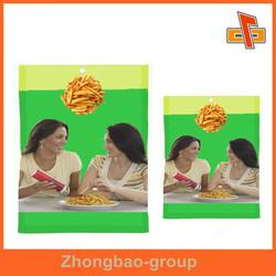 manufacturers food grade three side seal waterproof plastic bag for food packaging