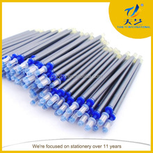2014 new product high quality Gel ink Silver Refill pen for cloth and leather