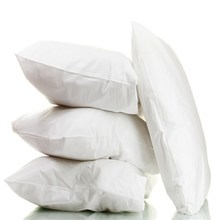 down pillow with profile