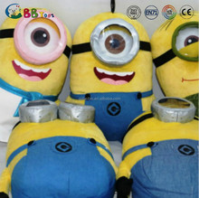 45cm cartoon minion plush toys / cartoon soft stuffed Despicable me minion plush