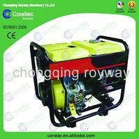 single-phase air-cool 170f 4HP engine 2000walt diesel generator
