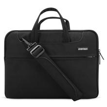 POFOKO 15.4 inch Portable Single Shoulder Laptop Bag for Laptop(Black)