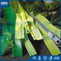 rings and slidersfor sports wear,SBS large shopping bag with zipper plastic zipper,11# close-end metal zipper